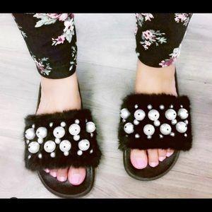 Shoes - Fury Sandals BLACK